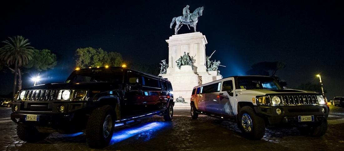 Hummer-Limousine-Roma